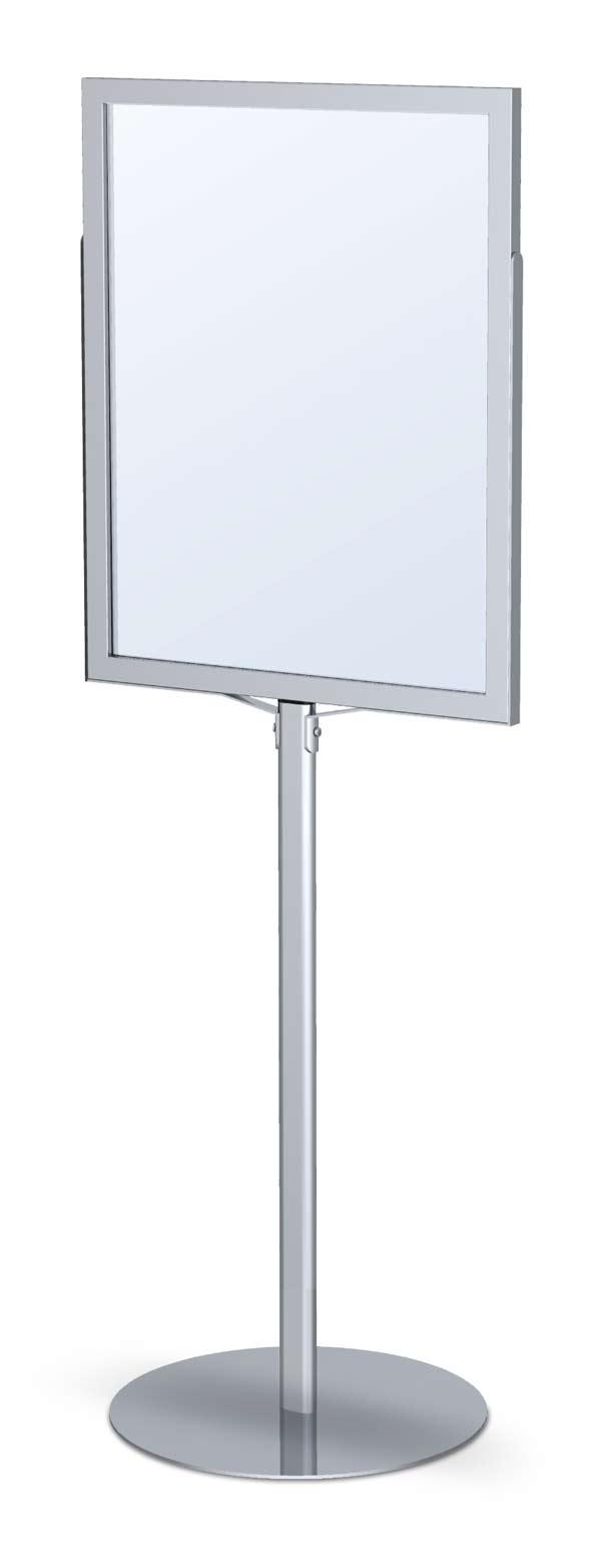 Protective Paper For Floors Monster Pedestal Sign Frame Stand | Floor Standing Sign ...