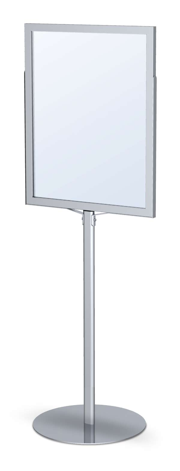 24 X 36 Poster Frame Display Stand Double Sided Slide In