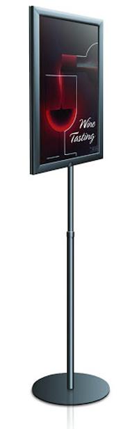 Perfex Pedestal Signframe Floor Standing Sign Holders