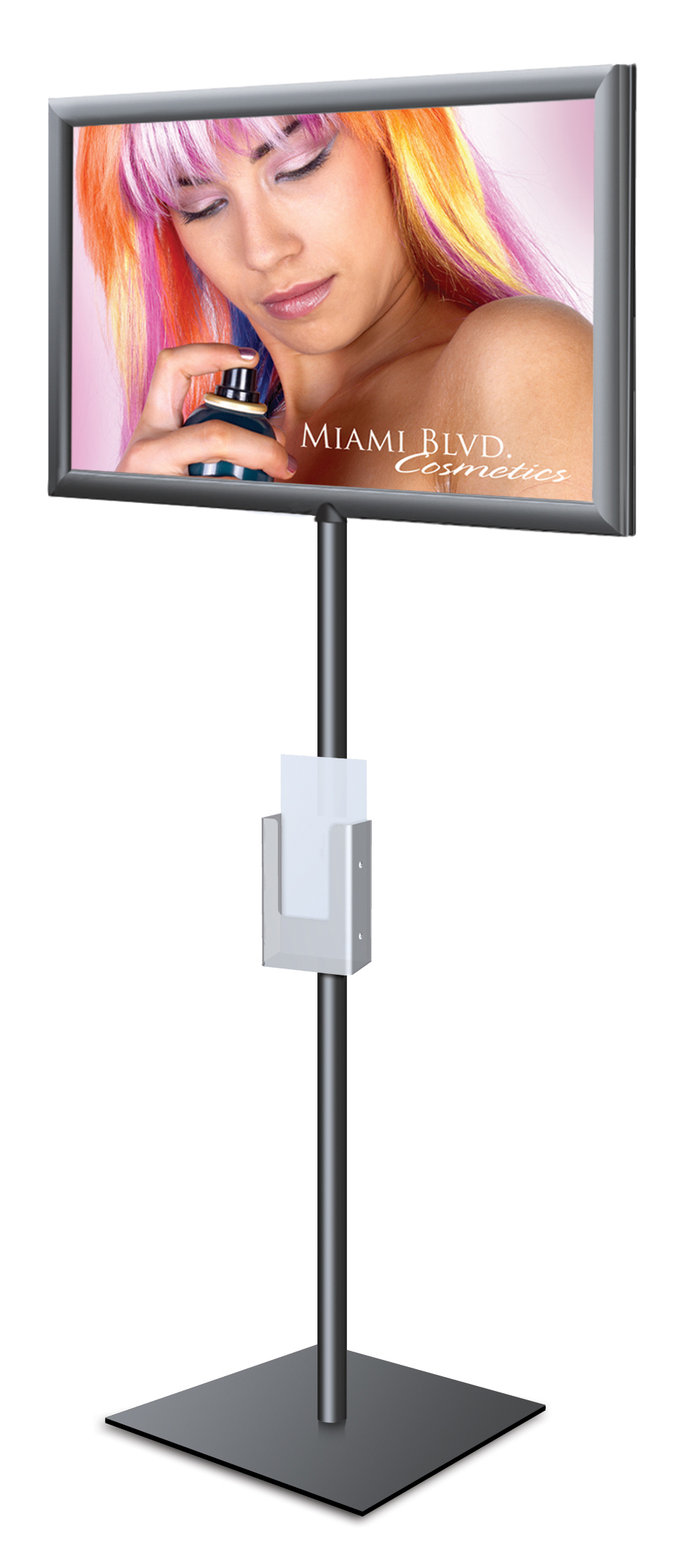 Price Holder Reatail Sign Holder Adjustable Height Literature Price Tag Holder