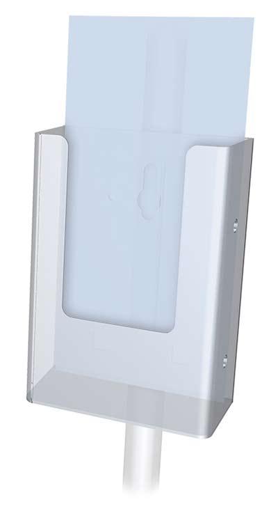 Perfex Pedestal Sign Frame Floor Standing Sign Holders
