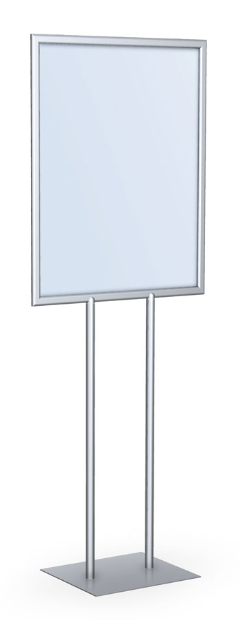 Image result for Floor standing poster holder
