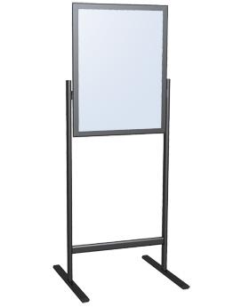 snapframe poster stands floor standing sign holders display aisle. Black Bedroom Furniture Sets. Home Design Ideas