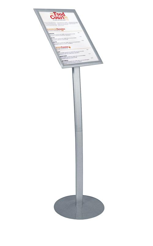 snapper snap frame sign stand floor standing sign holders display aisle. Black Bedroom Furniture Sets. Home Design Ideas