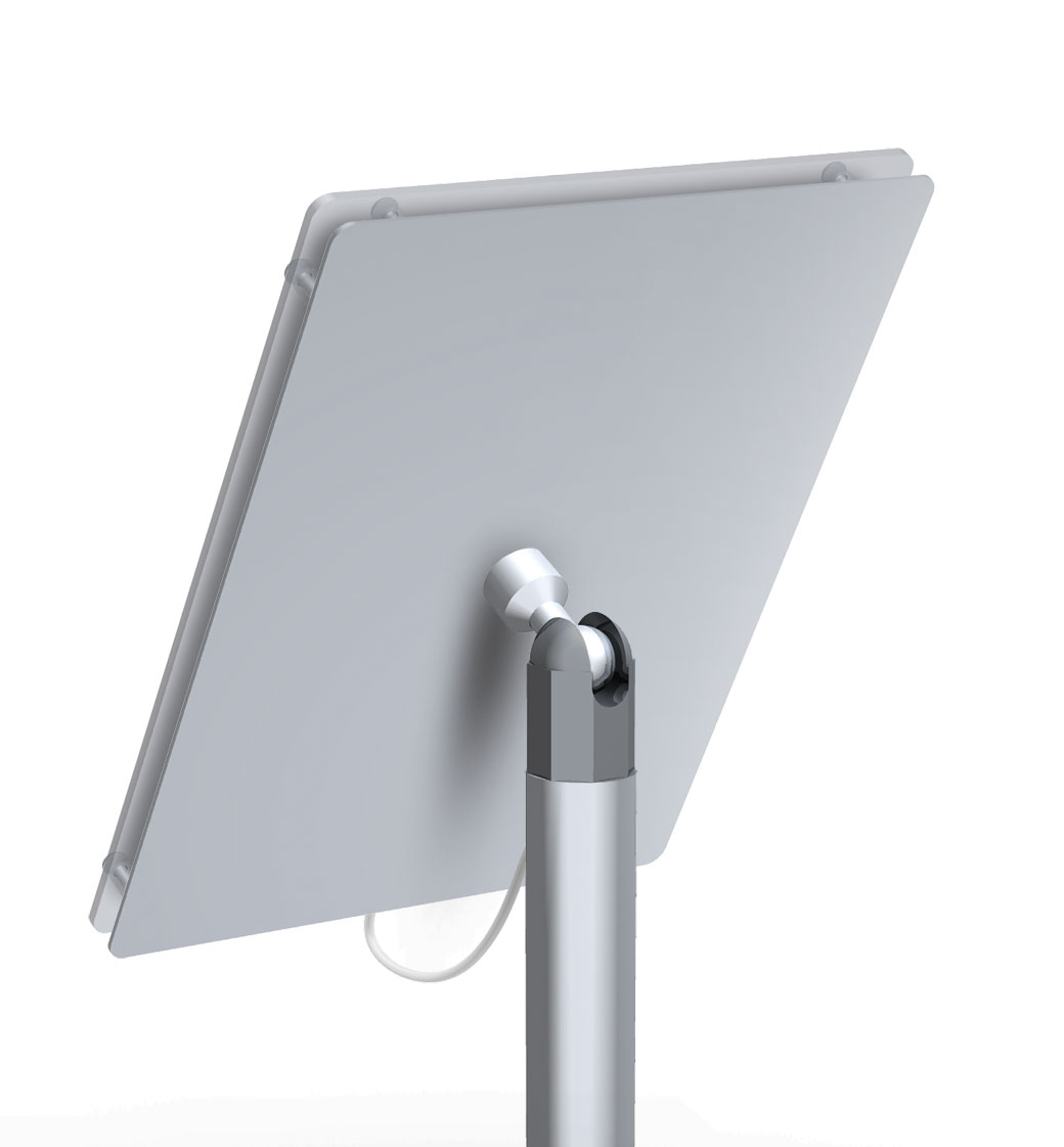 Classic Wall Mount Ipad Holder Ipad Tablet Display