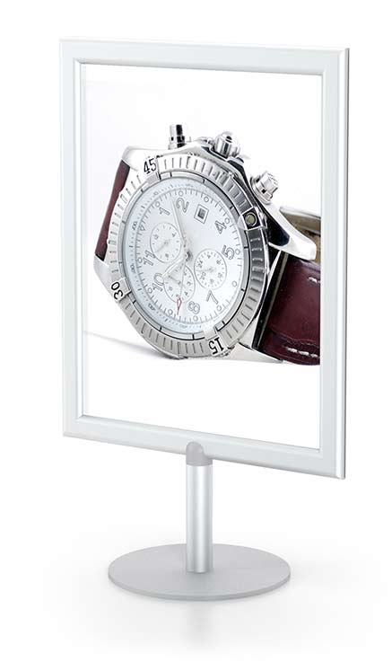 Perfex Table Top Frames Tabletop Sign Holders Display
