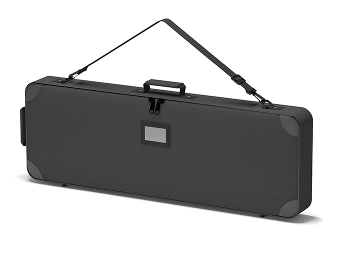 Padded carry bag for tradeshow 36x12x3