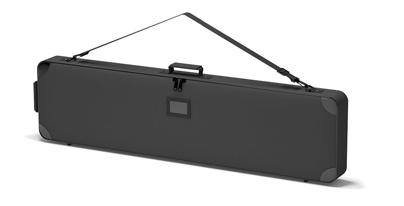 Padded carry bag for tradeshow 48x12x3