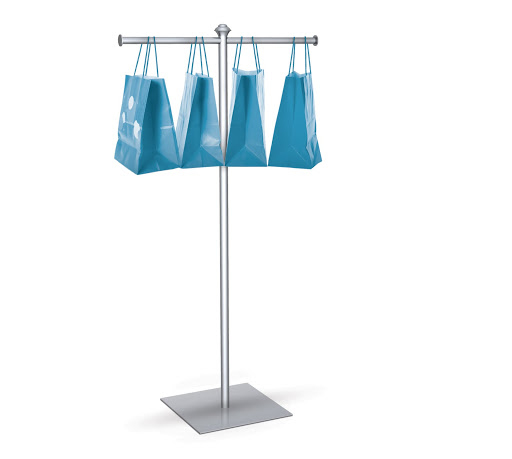 Trade Show Bag Stand With Base Trade Show Accessories
