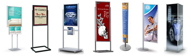 Floor Standing Displays