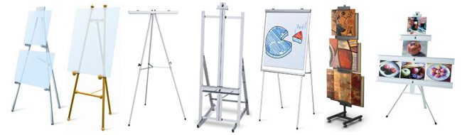 Display and Artist Easels