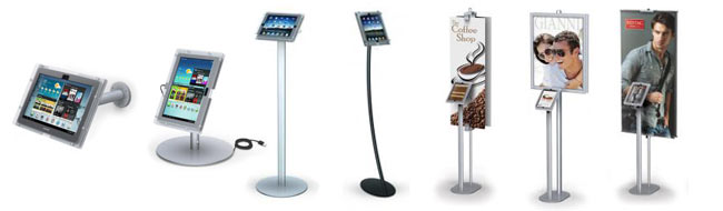 iPad Tablet Display Stands