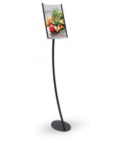 Floor Standing Signs - Eclipse Concave Pedestals