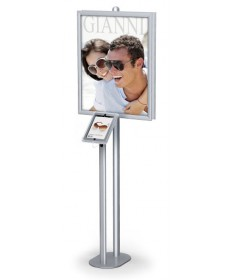 Floor Standing Signs - Hybrid Pro iPad Frame Stands