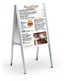 Floor Sign Stands - A-Frame Classic Stands