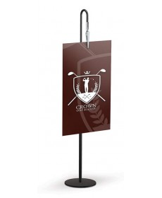 TableTop Sign Holders - Countertop Gooseneck clip sign holder