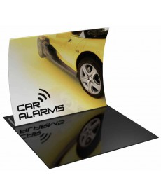 Tension Fabric Displays - Formulate 10ft Vertical Curve