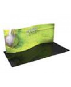 Tension Fabric Displays/Backwalls - Formulate 20ft S Curve