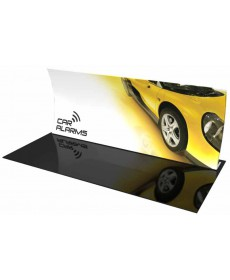 Tension Fabric Displays - Formulate Master 20ft Vertical Curve