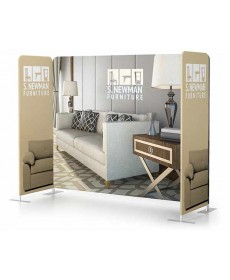 Scenic Fabric Wall set as tradeshow space divider